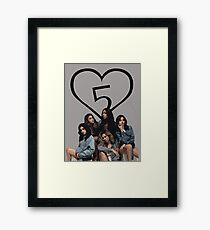 FIFTH HARMONY PHOTOSHOOT Framed Print