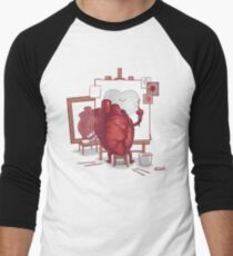 Self Portrait Men's Baseball ¾ T-Shirt