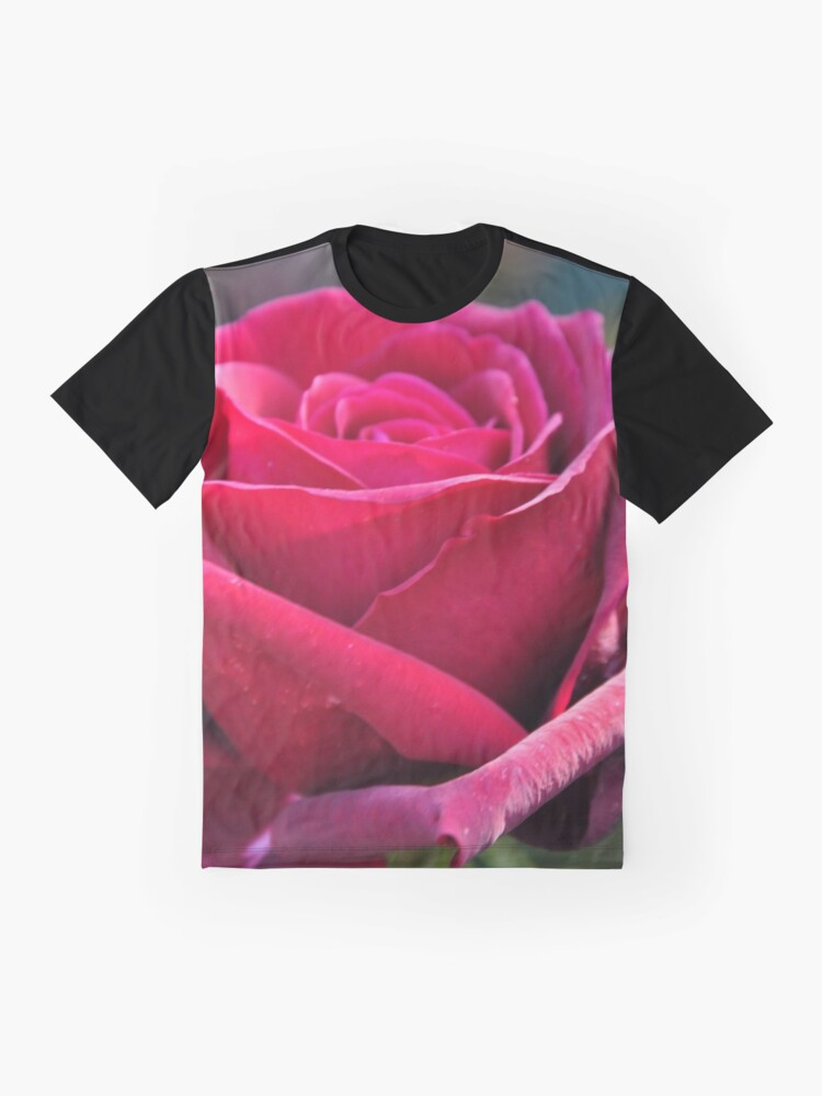 Alternate view of Red rose Graphic T-Shirt
