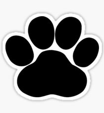 Dog Paw Print Sticker