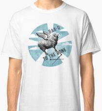 Flying sheep knitting needles bad to the bone Classic T-Shirt