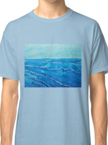 Japanese Waves original painting Classic T-Shirt