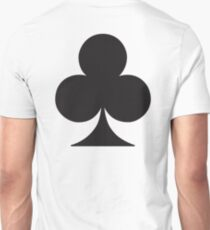 ACE, Black, Ace of Clubs, CLUB, Cards, Game, Suit, gangs, Gamble T-Shirt