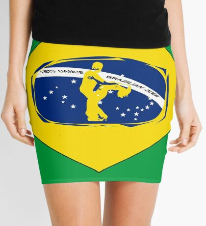 lets dance brazilian zouk Mini Skirt
