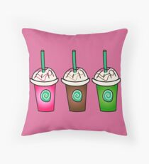 Frappes Throw Pillow