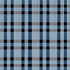 Blue and Black Tartan by saleire