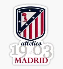 Atletico Madrid club football Sticker