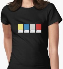 D N C E Women's Fitted T-Shirt