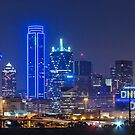 "Dallas ""Police Tribute"" FULL kyline 2016  by josephhaubert"