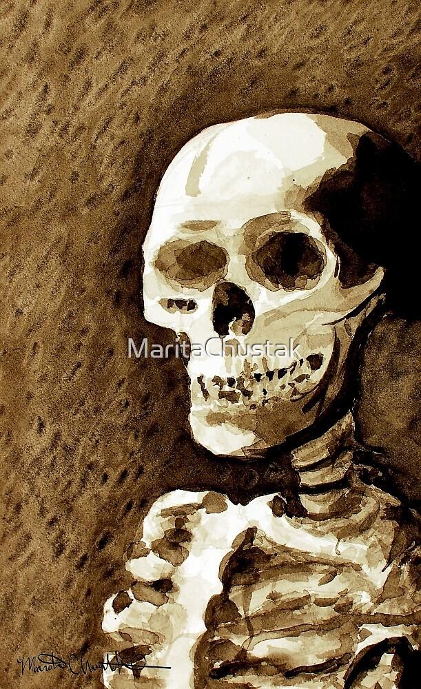 Death, My Friend by MaritaChustak