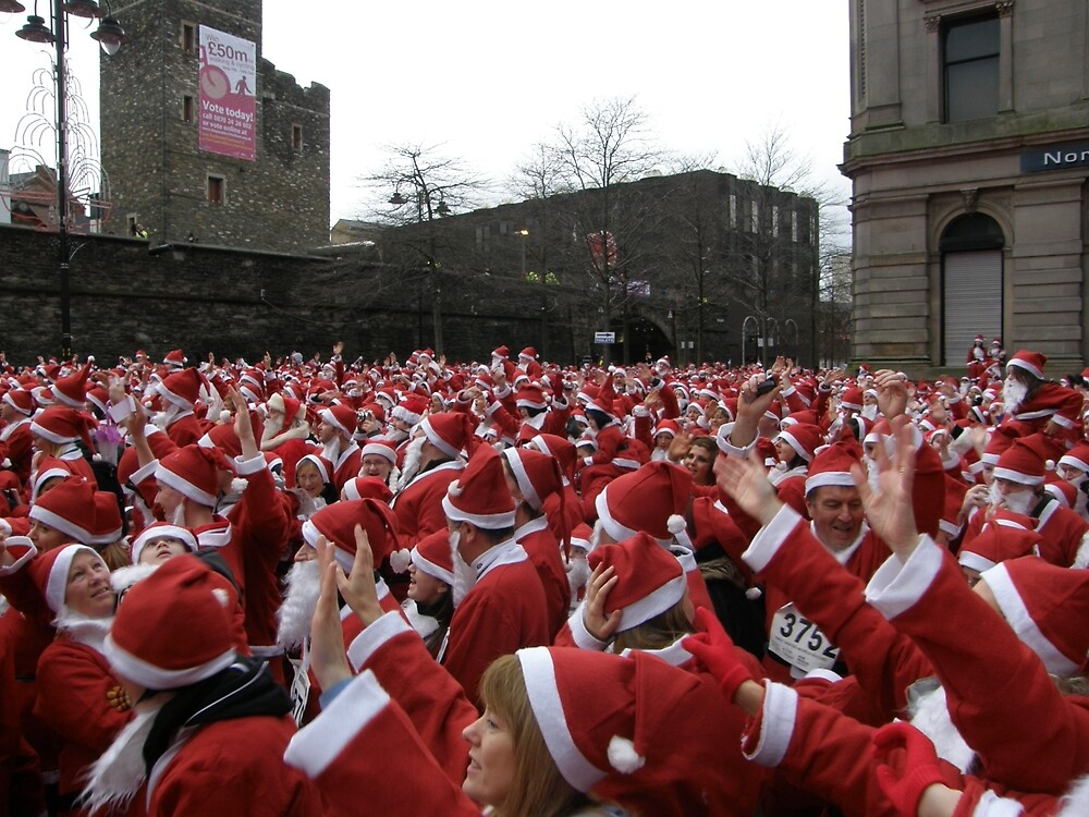 Will the real Santa Claus put their hand up? by mikequigley
