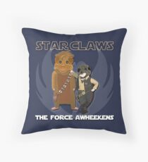 Star Claws Throw Pillow
