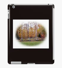 Fence line iPad Case/Skin