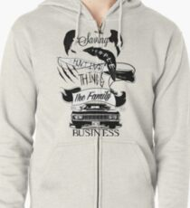 The Family Business Zipped Hoodie