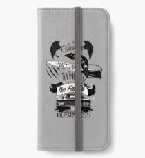 Das Familienunternehmen iPhone Flip-Case/Hülle/Skin
