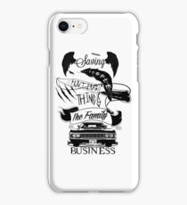 The Family Business iPhone Case/Skin