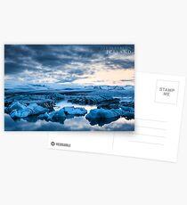 Jokulsarlon, Iceland Postcards