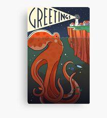 Greetings! Canvas Print