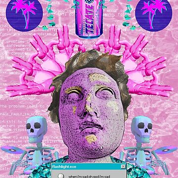 Vaporwave Front Bottoms Aesthetic - Self Titled by ABrokenPixel