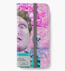 Vaporwave Front Bottoms Aesthetic - Self Titled iPhone Wallet/Case/Skin