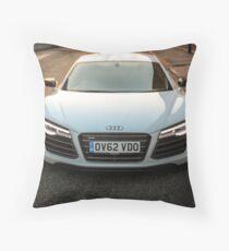 Audi R8 V10 Throw Pillow