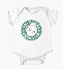 Body de manga corta para bebé Franklin The Turtle - Diseño de Starbucks