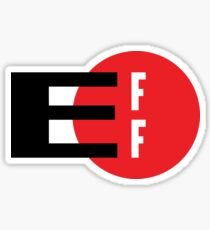 Show your support for the Electronic Frontier Foundation Sticker