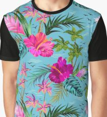Hello Hawaii, a stylish retro aloha pattern. Graphic T-Shirt