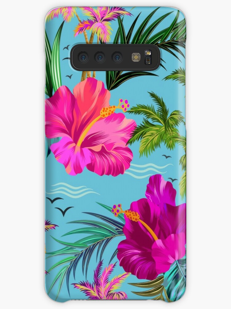 Hello Hawaii, a stylish retro aloha pattern. by Elena Belokrinitski