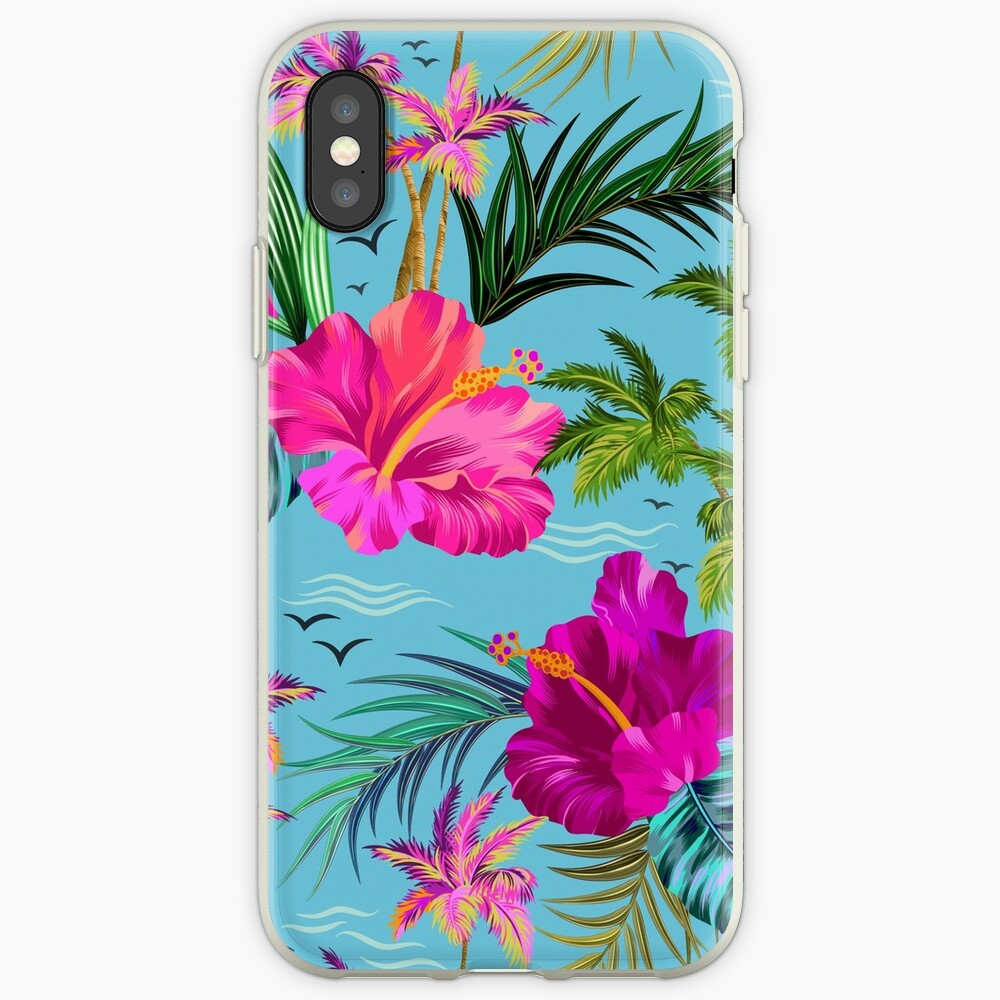 Hello Hawaii, a stylish retro aloha pattern. iPhone Cases & Covers