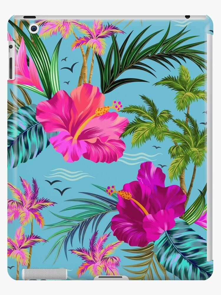 Hallo Hawaii, ein stilvolles Retro-Aloha-Muster. von Elena Belokrinitski