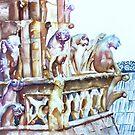Notre-Dame Sentinels by Christiane  Kingsley