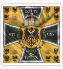 German Emperor Standard 1888-1918 Sticker