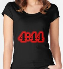 Angel Number 4:44 Women's Fitted Scoop T-Shirt