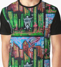 Robo World - City of Secrets Graphic T-Shirt