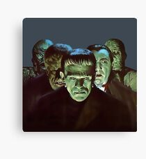 Gang of Monsters  Canvas Print