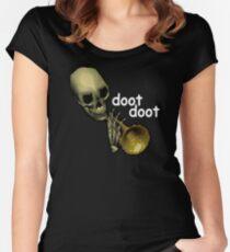 Doot Doot Mr. Skeltal Women's Fitted Scoop T-Shirt
