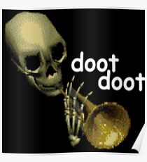 Doot Doot Mr. Skeltal Poster