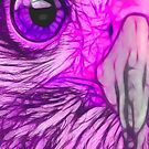 Predator Stare (Purple) by eltdesigns