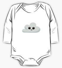 Happy Little Cloud One Piece - Long Sleeve