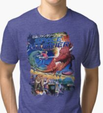 Space Harrier Tri-blend T-Shirt