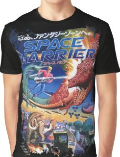 Space Harrier Graphic T-Shirt