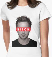 Jesse Pinkman - Bitch. Women's Fitted T-Shirt