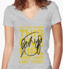 Scott Pilgrim Women's Fitted V-Neck T-Shirt