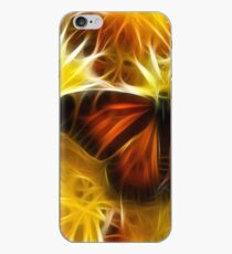 Butterfly on Flowers (soft) iPhone Case