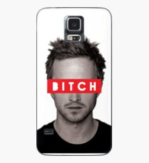 Jesse Pinkman - Bitch. Case/Skin for Samsung Galaxy