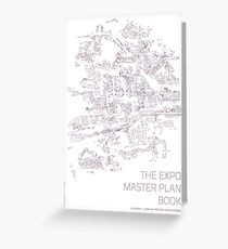 The Expo Master Plan Book - Version 3 Greeting Card