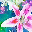 Watercolor Flower numero uno by eltdesigns