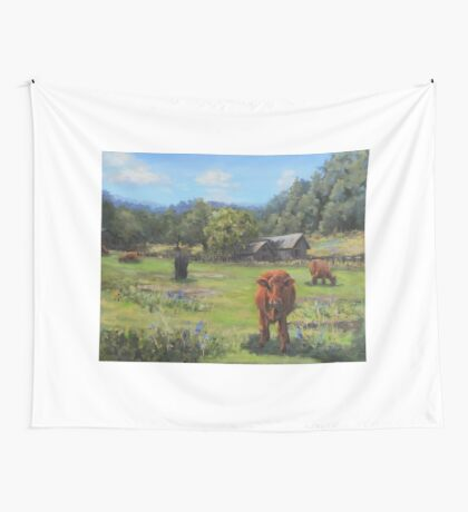 Afternoon Snack Wall Tapestry