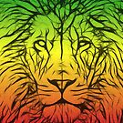 Rasta Lion numero dos by eltdesigns